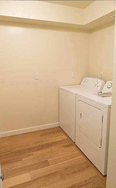 Laundry Room,3413 SW 1st,Apartment, SW Portland, OR For Rent