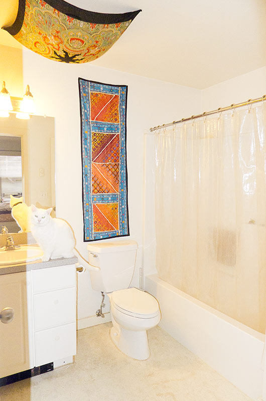 bathroom 3417 SW 1st apartment for rent
